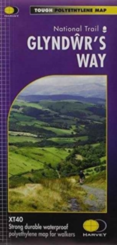 Glyndwr's Way  XT40, Sheet map, folded Book