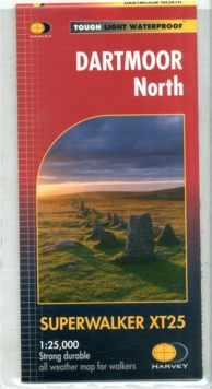 Dartmoor North Xt25, Sheet map, folded Book