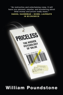 Priceless : The Hidden Psychology of Value, Paperback / softback Book