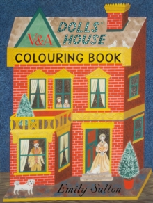 The Dolls' House Colouring Book, Paperback Book