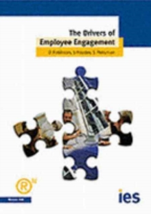 The Drivers of Employee Engagement, Paperback Book