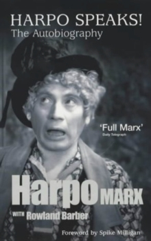 Harpo Marx : The Autobiography, Hardback Book