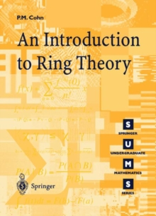 Introduction to Ring Theory, Paperback / softback Book
