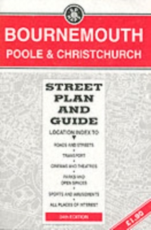 Bournemouth/Poole : Street Plan and Guide, Sheet map, folded Book