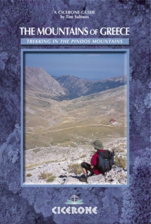 The Mountains of Greece : Trekking in the Pindhos Mountains, Paperback Book