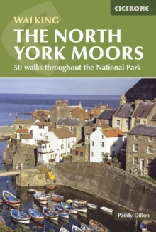 The North York Moors : A Walking Guide, Paperback Book
