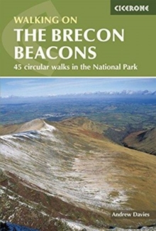 Walking on the Brecon Beacons, Paperback Book