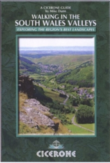Walking in the South Wales Valleys, Paperback Book