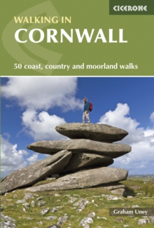 Walking in Cornwall, Paperback Book