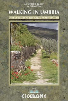 Walking in Umbria, Paperback Book