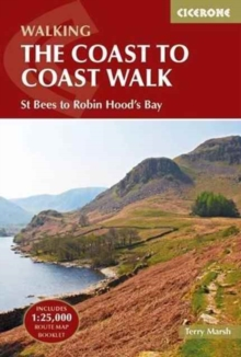 The Coast to Coast Walk : St Bees to Robin Hood's Bay, Paperback Book
