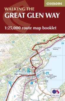 The Great Glen Way Map Booklet : 1:25,000 OS Route Mapping, Paperback Book