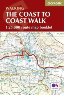 The Coast to Coast Map Booklet, Paperback Book