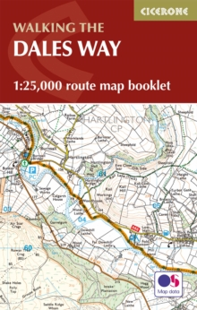 The Dales Way Map Booklet, Paperback / softback Book