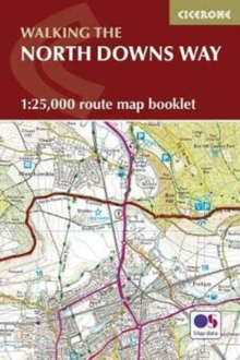 North Downs Way Map Booklet, Paperback / softback Book