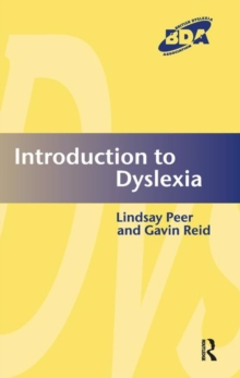 Introduction to Dyslexia, Paperback / softback Book