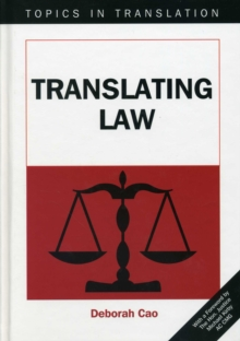 Translating Law, Hardback Book