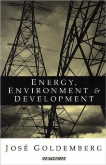 Energy Environment and Development, Paperback / softback Book