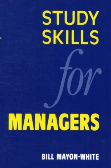 Study Skills for Managers, Paperback Book