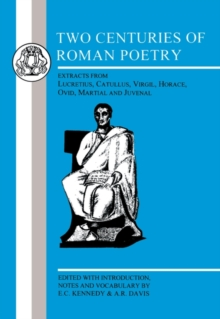 Two Centuries of Roman Poetry, Paperback Book