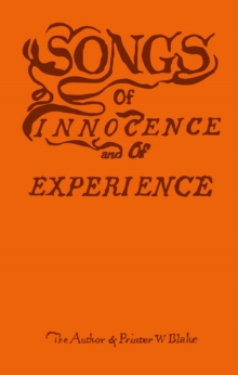 Songs of Innocence and of Experience, Hardback Book