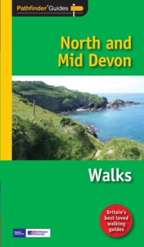 Pathfinder North and Mid Devon : Walks, Paperback Book