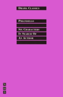 Six Characters in Search of an Author, Paperback Book