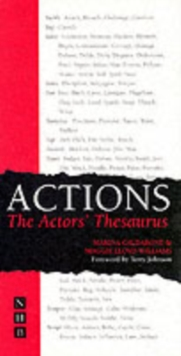 Actions: The Actors' Thesaurus, Paperback / softback Book