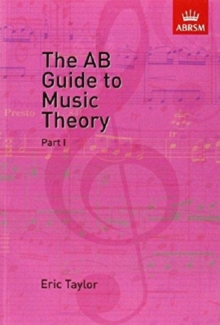 The AB Guide to Music Theory, Part I, Sheet music Book