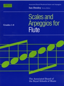 Flute Scales & Arpeggios, ABRSM Grades 1-8, Sheet music Book