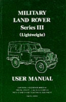 Land Rover Series 3 Military Lightweight Handbook, Paperback Book