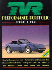 TVR Performance Portfolio, 1986-94, Paperback Book