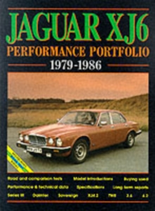 Jaguar XJ6 Series 3 Performance Portfolio 1979-1986, Paperback Book