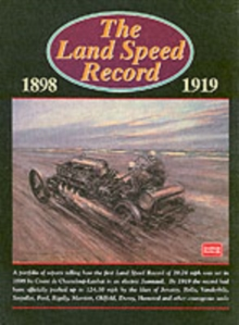 The Land Speed Record, 1898-1919, Paperback / softback Book