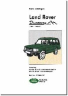 Land Rover Discovery Parts Catalogue 1989-1998 MY, Paperback / softback Book
