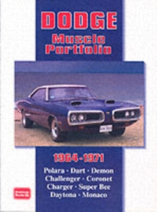 Dodge Muscle Portfolio 1964-1971, Paperback Book