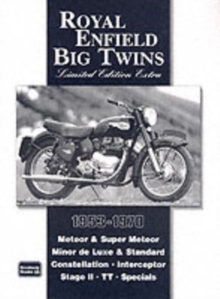 Royal Enfield Big Twins Limited Edition Extra, Paperback / softback Book
