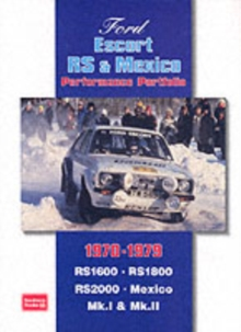 Ford Escort RS and Mexico Performance Portfolio 1970-1979, Paperback Book