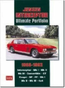 Jensen Interceptor Ultimate Portfolio 1966-1992, Paperback / softback Book