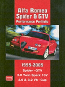Alfa Romeo Spider and GTV Performance Portfolio 1995-2005, Paperback Book
