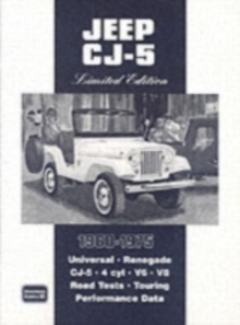 Jeep CJ-5 Limited Edition 1960 - 1975, Paperback / softback Book