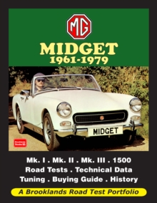 MG Midget 1961-1979 Road Test Portfolio, Paperback Book