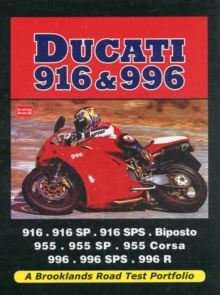 Ducati 916 & 996 : A Brooklands Road Test Portfolio, Paperback Book