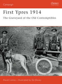 First Ypres, 1914, Paperback Book