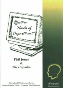 Effective Heads of Department, Paperback Book