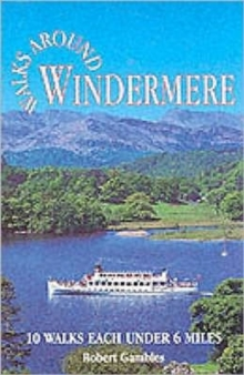 Walks Around Windermere, Paperback Book