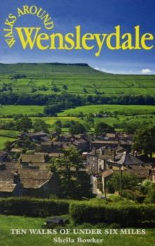 Walks Around Wensleydale, Paperback Book