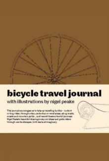 Bicycle Travel Journal, Paperback Book