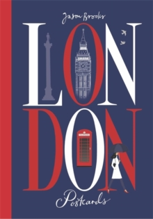 London Postcards, Hardback Book