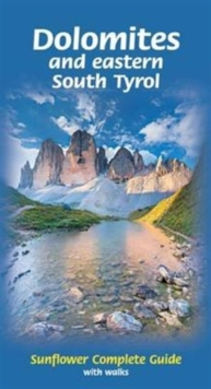 Dolomites and Eastern South Tyrol : Complete Guide with Walks, Paperback Book